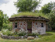 cordwood Green roof
