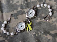 """Deployment Bracelet,"" the winning design from Artbeads Jewelry Design Star Kitty Hommer"