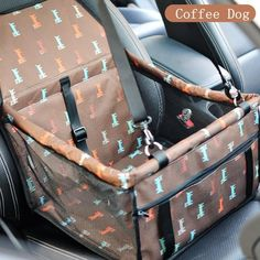 Portable Pet Car Seat Belt Booster Bag Dog Cat Safety Travel Carrier Bag Folding Safety is Worth Buying - NewChic Dog Car Booster Seat, Car Seat Pad, Dog Car Seats, Puppy Car Seat, Dog Carrier Bag, Pet Carriers, Dog Accessories, Oxford, Bags