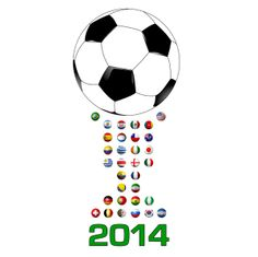 Brazil 2014 World Cup. The 32 Trophy. Soccer Championship. #Soccer #Soccer2014 #Worldcup2014 #WorldCup #Brazil2014