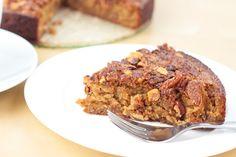 Healthy Moist Coffee Cake  (gluten free, dairy free, refined sugar free, yeast free, corn free)