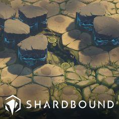 Shardbound - Spiritwalk Studios - Sinners Mire environment, Ghislain GIRARDOT on ArtStation at https://www.artstation.com/artwork/Yyqy6