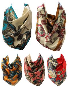 This can also happen due to different screen resolutions. We also accept cash on collection. Scarf Head, Bandana Scarf, Head And Neck, Neck Scarves, Leather Design, Square Scarf, Canvas Leather, Paisley Print, Shoulder Handbags