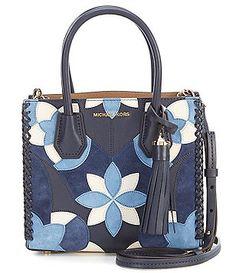 MICHAEL Michael Kors Studio Mercer Tasseled Patchwork Cross-Body Bag