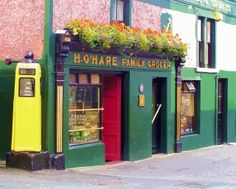 H. O'hare Family Grocer & Pub - Carlingford, County Louth, Ireland