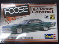 REVELL CHIP FOOSE CUSTOM 1967 DODGE CORONET 426 HEMI PLASTIC MODEL CAR KIT 1/25 | eBay
