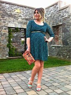 One Dress, Four Ways: A PinkBlush Maternity Giveaway Pregnancy Style, Pregnancy Fashion, Maternity Style, Maternity Fashion, Pink Blush Maternity Dress, Maternity Dresses, Baby Bump Style, Envelope Clutch, Wedding Wear
