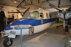 The Houma Regional Military Museum has over 8000 artifacts including a famous 1956 Aero Commander 680 airplane.
