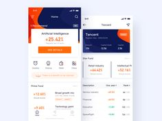 Fund App design logo icon app ui A fund type financial management APP, where you can find your most wanted financial products, enjoy the fun of financial management, realize the value-added of life, I hope everyone can like it。 Th.