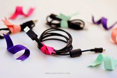 Ribbon Twist Ties - Ordenando cables | Agus Yornet Blog