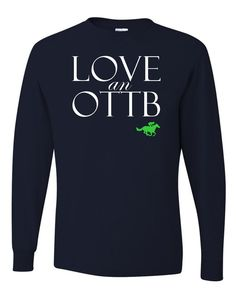 Off the Track Thoroughbred long sleeve tee be5e69dba3