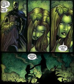 Batman Poison Ivy | On their first meeting, Batman was able to resist Poison Ivy and ...