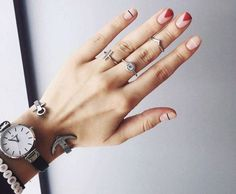 25 Beautiful Nail Designs You Are Going To Love Long Nail Designs, Simple Nail Designs, Beautiful Nail Designs, Nail Art Designs, Summer Acrylic Nails, Summer Nails, Short Nails, Long Nails, Hot Hair Styles