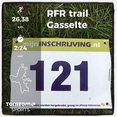 RunForestRun Gasselte in Gasselte. 26 km in 2:24:29.