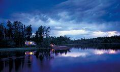 Nemeiben Lake in Lac La Ronge Provincial Park is a prime #Saskatchewan camping spot.