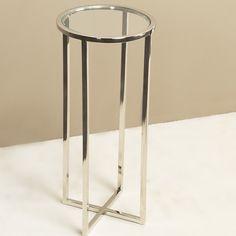 Interlude Home Zander Round Drink Table
