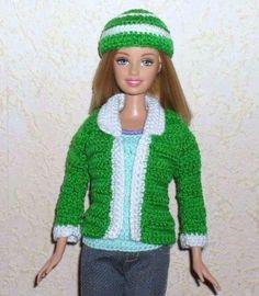 vestido para barbie hecho a mano