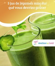 5 vegetable juice slimming that you should taste The special feature of these vegetable juices is that they relieve cravings and promote better health. Discover here five recipes! Smoothie Legume, Kiwi Smoothie, Healthy Smoothies, Good Healthy Recipes, Healthy Cooking, Fruit Detox, Fruits And Veggies, Vegetables, Detox Juice Recipes