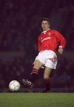 A young David Beckham