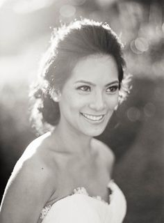 Black and White Bridal Portrait | photography by http://jenhuangphoto.com/