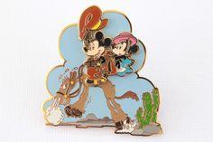Cowboy Mickey & Minnie on Horse! – Everything Disney Pins