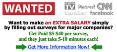 I get paid $76.47 for taking 12 surveys so far, and they only took 5 minutes each! SEE HERE >> http://goretos.info/