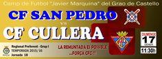 Salva la veu del Poble: CF CULLERA 2015/16 - PRIMERA VUELTA DE LA LIGA CF ...