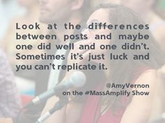 @AmyVernon #quote talking about blog posts metrics on the #MassAmplify show http://massamplifyshow.com