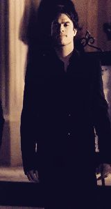 Ian Somerhalder as Damon Salvatore ❤❤❤