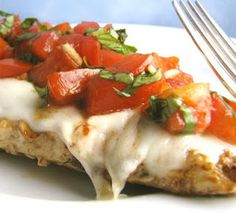 ... Bruschetta Chicken on Pinterest | Bruschetta, Chicken and Chicken
