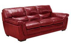 Wilson Leather Sofa