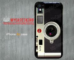 Vintage Camera iPhone 5c case Coral iPhone5c case leica m9 camera iPhone5c case iPhone 5c Hard/Rubber case-Choose Your Favourite Color on Etsy, $6.99