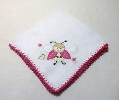Babita Bordada - Abelhinha (pink)