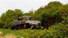 Los tanques de guerra oxidados en Culebra no son lo único que dejó atrás la Marina tras abandonar sus prácticas militares en la década de 1970. En la isla municipio abundan las municiones sin estallar. Foto José E. Maldonado / www.miprv.com