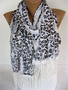 Elegant Scarf  Fashion Scarves  gift Ideas For Her