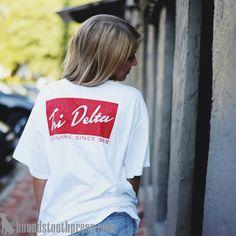 Tri Delta | #LoveTheLab houndstoothpress.com | Fraternity and Sorority  Shirts…