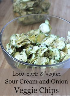 Enjoy this low-carb version of Sour Cream and Onion Potato Chips! It Takes Time