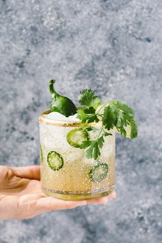 This Cilantro-infused Spicy Jalapeno Margaritas recipe is easy and quick to make and guaranteed to impress, especially if you are entertaining a crowd.