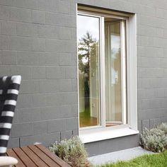 Alu Aussenfensterbank - Einbausituation