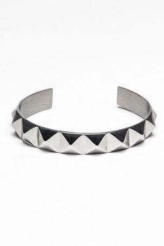 Pyramid Bangle Bracelet
