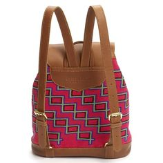 The patterns and the textile of this back backpack is brought to life by Wayuu artisans in the La Guajira peninsula in northern Colombia. This piece is 10...