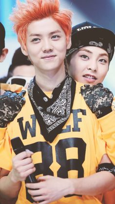 So what if I said I liked you? Xiumin x Luhan - And so it starts.