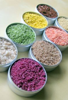 Naturally Flavored Salts by CooksOutsideTheBox                                       I'm seriously obsessed with flavored salts!