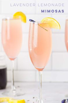 easy lemonade recipe Change up the classic mimosa recipe with a lavender lemonade mimosa! So easy to make and is perfect for Summer brunch! Best Mimosa Recipe, Easy Lemonade Recipe, Breakfast Bread Recipes, Brunch Recipes, Cocktail Recipes, Summer Recipes, Drink Recipes, Easy Recipes, Healthy Recipes