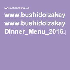 www.bushidoizakaya.com Dinner_Menu_2016.pdf