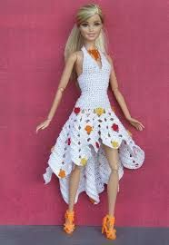"Résultat de recherche d'images pour ""crochet barbie doll clothes for beginners"""