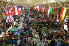 Enjoy the charm and friendly atmosphere of one of Britain's largest indoor markets. North Devon, Family Memories, Family Holiday, Places Ive Been, Britain, Things To Do, New Homes, Marketing, Cool Stuff
