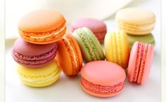 Macaroons will make perfect little cakes for Alice in Wonderland tea party!  Colorful and tastier than petit fours!