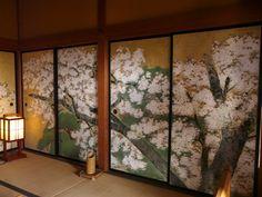 beautiful spring sakura room
