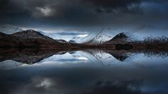 Lochan na Hachlaise by Florent Criquet #xemtvhay